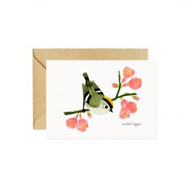 Roitelet Greeting Card - OCÉCHOU PAPERS