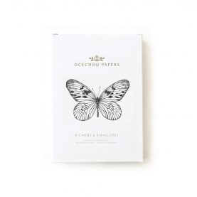Butterflies set of 8 cards - OCÉCHOU PAPERS