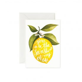 Greeting crd You are the Sunshine - OCÉCHOU PAPERS