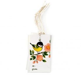 Gift tags Great Tit - OCÉCHOU PAPERS