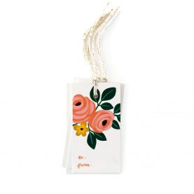 Wild Roses Gift Tags - OCÉCHOU PAPERS